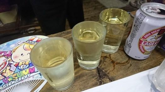 日本酒 3杯♪ 宮田酒店