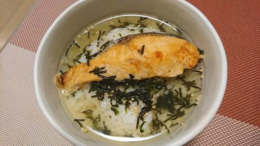 【簡単晩飯】お茶漬け