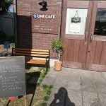 UNE CAFE ( アンカフェ )入口