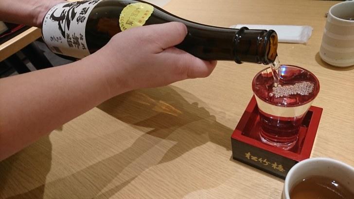 日本酒注文