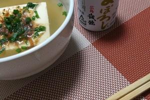 簡単晩飯 湯豆腐