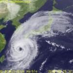 台風24号 デジタル台風:気象衛星画像:日本周辺 参考