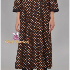 Black Bandhani Kurta with Pants
