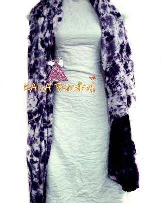 Jambli - White Pure SatinSilk Dress Material