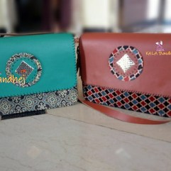 Kutchi Handmade Leather Purse | Bags Set 2