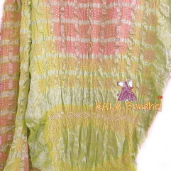 LemonLight - LightPink Gharchola Saree