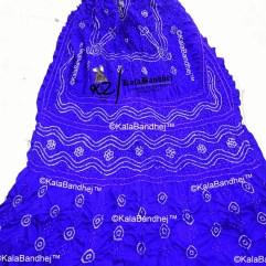 purple gaji silk bandhani dupatta