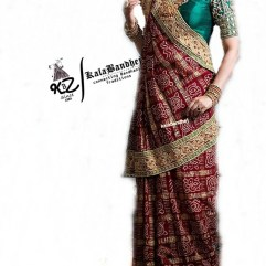 REAL Cotton Gharchola Saree MINA-BODER