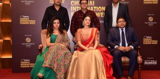 Sanam Shetty launches 8th edition Chennai International Fashion Week Poster Photos