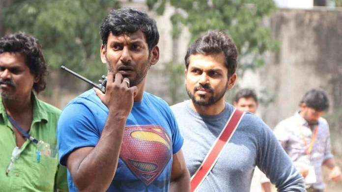 Vishal and Karthi