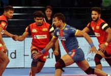 Pro Kabaddi League - Bengaluru Bulls vs UP YoddhaPro Kabaddi League - Bengaluru Bulls vs UP Yoddha