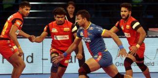 Pro Kabaddi League - Bengaluru Bulls vs UP YoddhaPro Kabaddi League - Bengaluru Bulls vs UP Yoddha