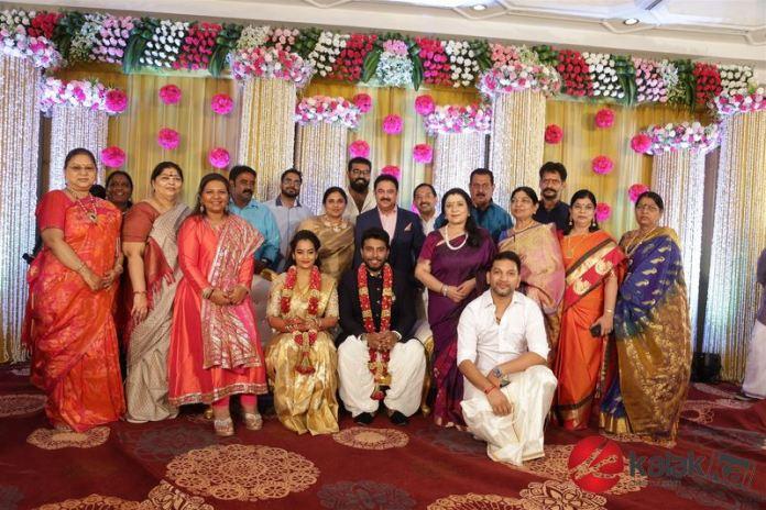 Celebrities at Actress Suja Varunee and Shiva Kumar Wedding Reception Stills