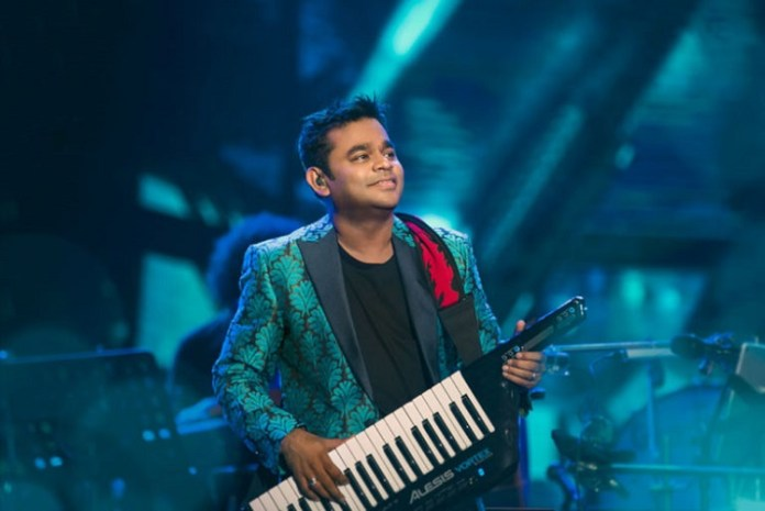 AR Rahman in Hockey World Cup