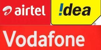 Airtel, Vodafone Idea
