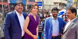 Actress Raashi Khanna launches Big C Mobile Store in Rajahmundry Photos
