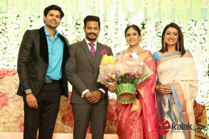 Actress Chandini Tamilarasan Wedding Photos