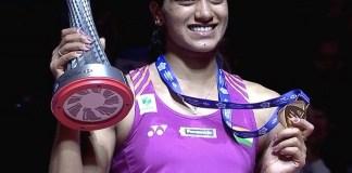 PV Sindhu win Gold Medal