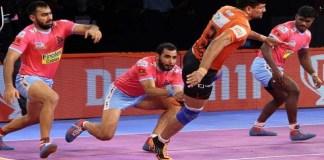 Pro Kabaddi U Mumba beat Gujarat
