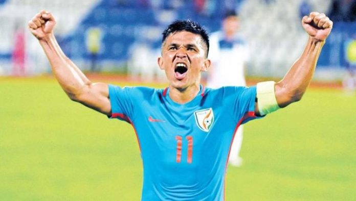 Sunil Chhetri Asian Cup Win