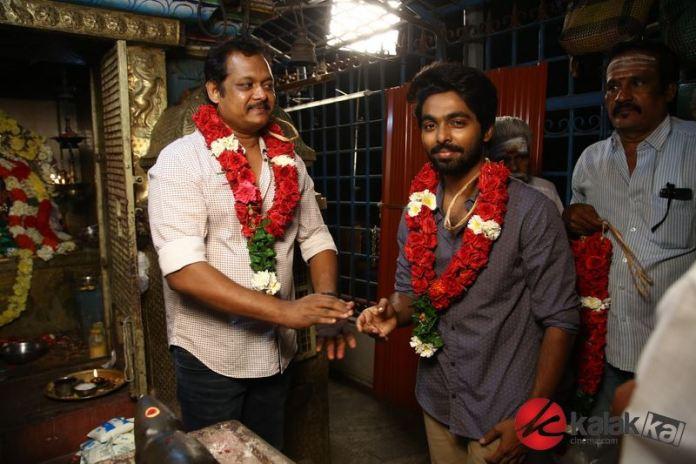 Director Ezhil and GV Prakash New Movie Pooja Stills
