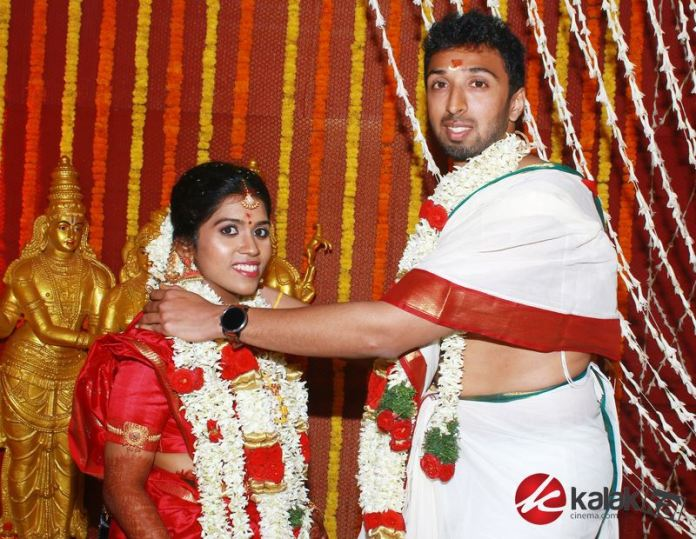 Director Manobala Son Harish - Priya Marriage Photos