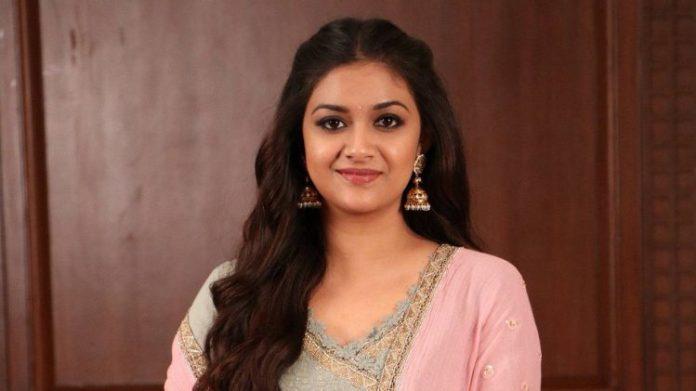 Keerthi Suresh in Bollywood