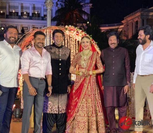 Arya & Sayyeshaa's Wedding Photos