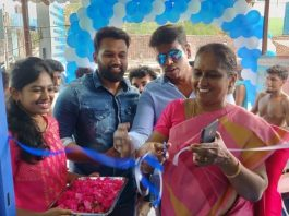 Dhadha 87 Director Vijay SriG Inaugurated Muthusaram Dental and General Clinic Stills
