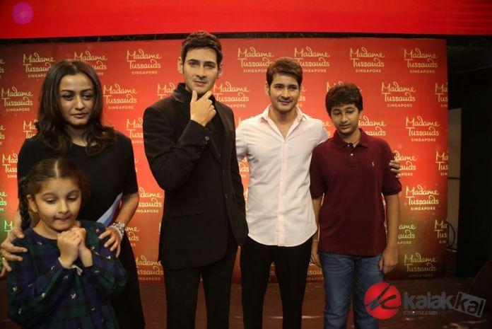 Mahesh Babu launches his Madame Tussauds wax statue at AMB Cinemas
