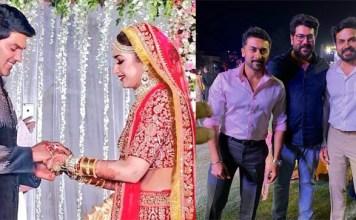 Surya in Arya's wedding