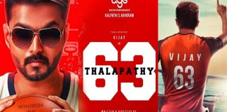 Thalapathy 63 First Look Poster