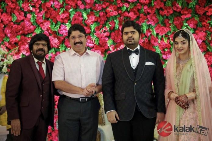 TR Kuralarasan Wedding Reception Stills