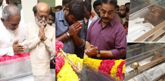 Cinema Celebrites Pay Last Respect