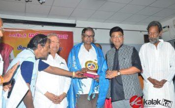 Aachi Manorama 82nd Birthday Celebration held at Chennai. K. Bhagyaraj at the event. | Actress Manorama | Monorama Birthday