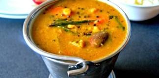 Kadamba Sambar Recipe : South Indian Recipe, Easy Rice Recipe, Veg Recipes of India, Quick And Easy Recipes, Indian Recipes, Easy Recipe