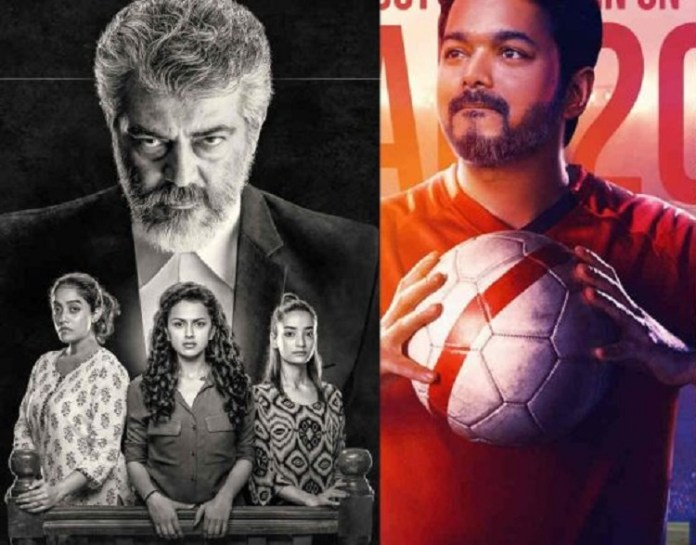 Ajith order to beat Vijay film : Thalapathy 63, Nerkonda Paarvai, Thala Ajith, Cinema News, Kollywood , Tamil Cinema, Latest Cinema News, Tamil Cinema News