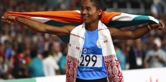 Hima Das Created History : Sports News, World Cup 2019, Latest Sports News, India, Sports, India Sports News, hima das wins fifth gold medal