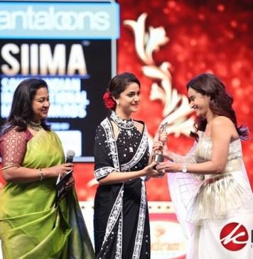 Celebs at SIIMA Awards 2019 | Keerthy Suresh, Sandeep Reddy Vanga, Yash, Sai Kumar, Chiranjeevi, Allu Aravind, Vijay Deverakonda, Sudheer Babu