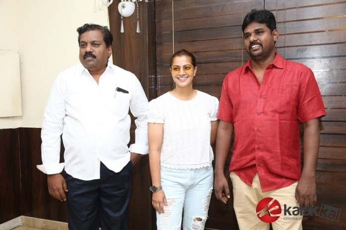 Kannirasi Movie Press Meet | Vimal, Varalaxmi Sarathkuma, Robo Shankar, Director Muthukumaran, Music Director Vishal Chandra Sekar, Producer Shameem Ibrahim Yugabharathi