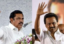 MK.Stalin and Edappadi Palanisamy : Political News, Tamil nadu, Politics, BJP, DMK, ADMK, Latest Political News, Vellore Election