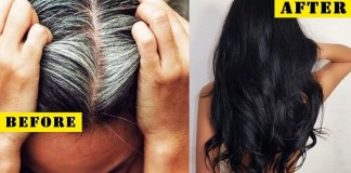 Black Hair Treatment : Repeat white hair to black hair permanent remedy, natural hair dye, white hair problem, Health Tips, Beauty Tips, Daily Health Tips