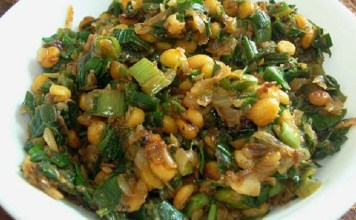 Spring onion Stir Fry : South Indian Recipe, Easy Rice Recipe, Veg Recipes of India, Quick And Easy Recipes, Indian Recipes, Easy Recipe