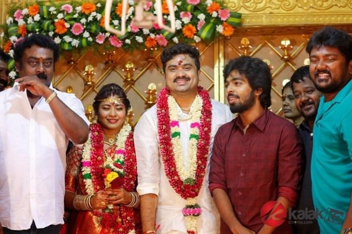 Producer M Saravanan Wedding Photos