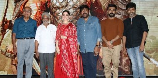 Syeraa Narasimha Reddy Press Meet