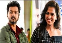 Ramya Pandian Talk About Vijay : Latest Interview Speech Update | Thalapathy Vijay | Tamil Cinema News | Kollywood Cinema News | Trisha | Ghilli