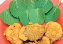 Omavalli leaf Bajji Recipe