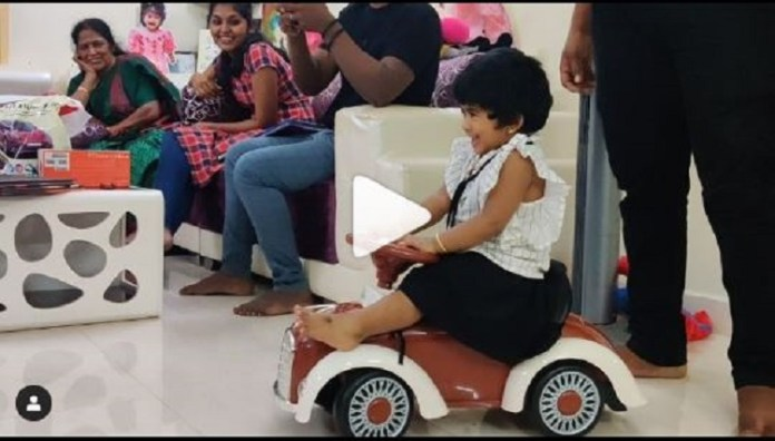 Kavin Play With Lala Baby | Sandy | Bigg Boss Tamil | Bigg Boss Tamil 3 | Kollywood Cinema News | Tamil Cinema News | Tharshan Family with Sandy