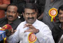 """I will not withdraw what Rajiv Gandhi talked about murder"": Seeman retaliates!"