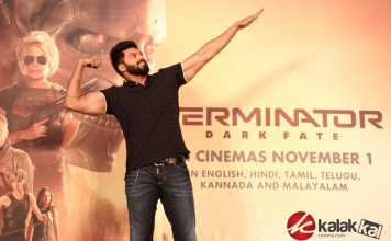 Terminator Dark Fate Tamil Trailer Launch Stills